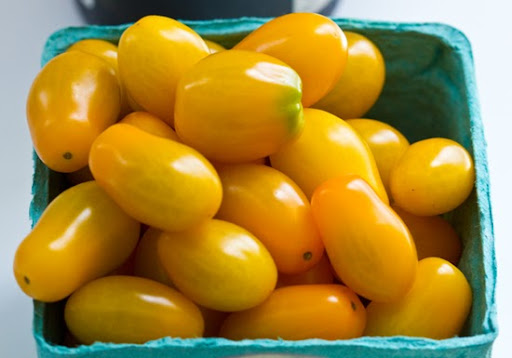 yellow cherry tomatoes - photo #32
