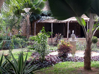 Courtyard in Lamu Kenya