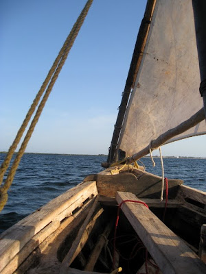 Dhow cruise in Lamu Kenya