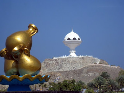 Statues and monuments in Muscat Oman