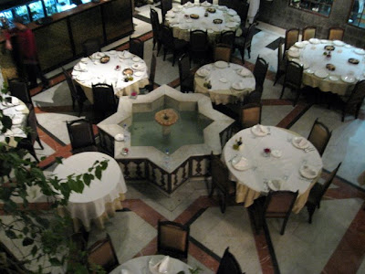 Naranj restaurant in Damascus Syria