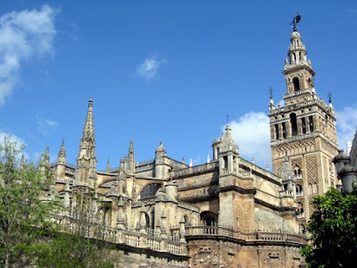 Cathedral in Sevilla Spain