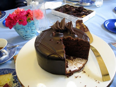 Birthday cake from Miette Patisserie in San Francisco California