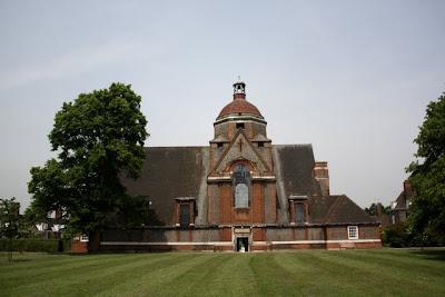 汉普斯特德花园郊区的教堂
