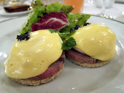 Hotel Le Bristol Restaurant Gastronomique breakfast in Paris France