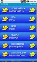 Screenshot of Tennis Chat