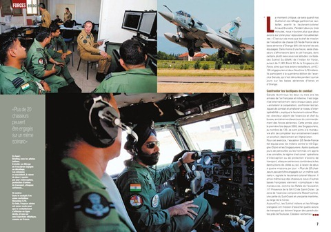 Indian Air Force at Exercise Garuda, France