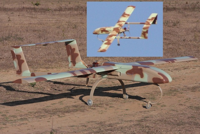 Altius Mk 1 Unmanned Aerial Vehicle [UAV] by Aurora Integrated Systems [Bangalore, India]