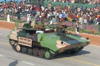 Indian Army Armoured Carrier Vehicle [BMP-2-based Carrier mortar tracked]