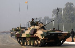 Indian Army Armoured Carrier Vehicle [BMP-2 Armoured Infantry Vehicle]