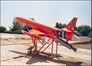 Indian Armed Forces Unmanned Aerial Vehicle [UAV] (Lakshya  remotely-piloted target drone)
