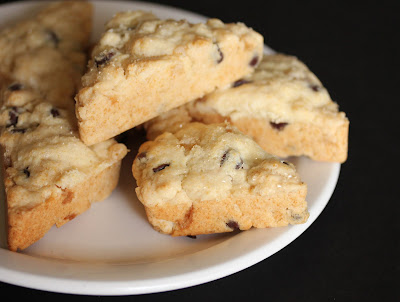 Ginger chocolate chip scones