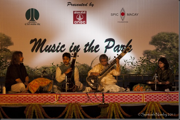 Music in the Park – Pt. Debu Chaudhuri-2
