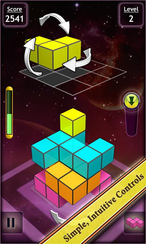 Breaking Blocks - 3D- screenshot
