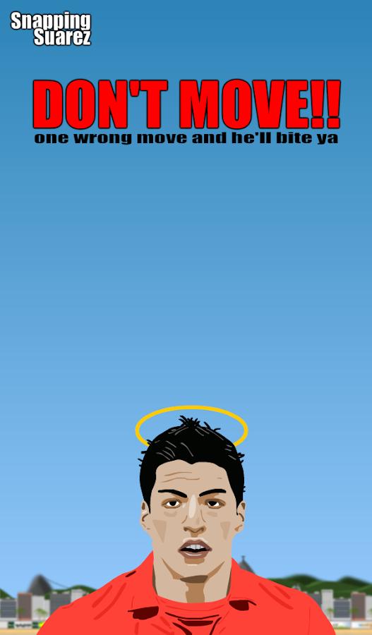 Snapping Suarez - screenshot