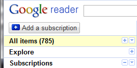 Google Reader Antisocial on