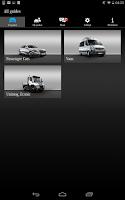 Screenshot of Mercedes-Benz Guides