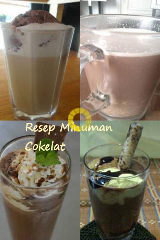 Resep Minuman Cokelat