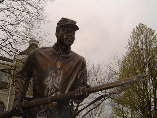 1st Kansas Colored Infantry Civil War Monument In Missouri