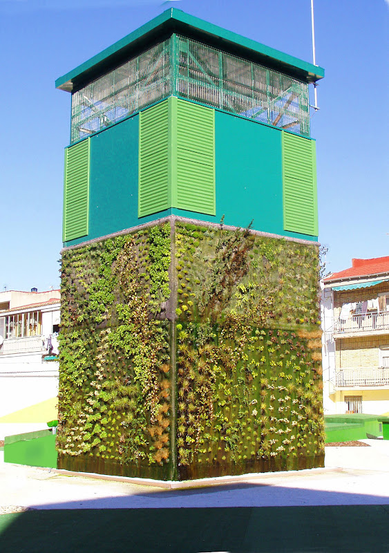 jardín vertical de Getafe