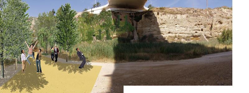 remodelación de la ladera del Vinalopó
