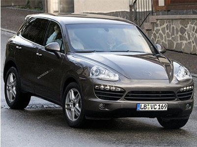 Characteristics Porsche Cayenne are declassified