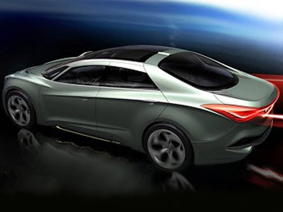 Hyundai will show in Geneva a prototype of a new sedan