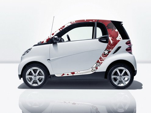 The complete set of stylish accessories for Fortwo