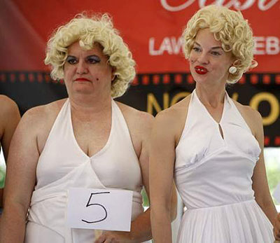 Competition of doubles of Marilyn Monroe
