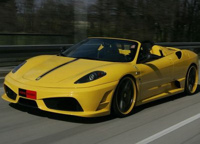 Studio Novitec Rosso has finished Ferrari F430 Scuderia Spider 16M
