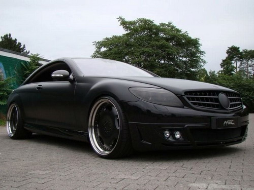 Aggressive Mercedes-Benz CL-Class