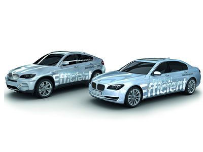 BMW will present in Frankfurt serial hybrids 7-Series and X6
