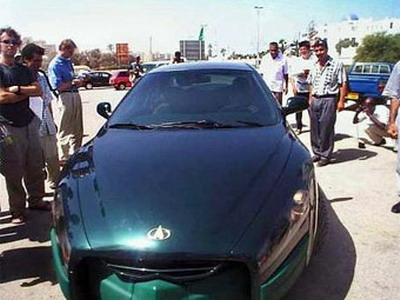 Muammar Kaddafi has thought up the supercar