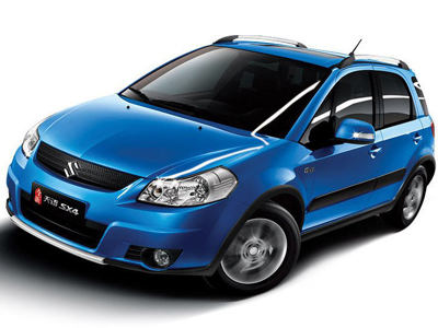Suzuki has presented restyling of compact hatchback SX4