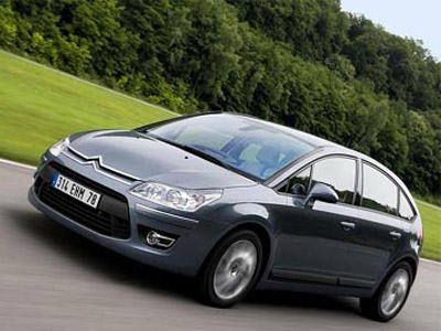 Citroen C4 with a new make-up