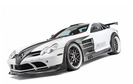 Second version Mercedes SLR Volcano