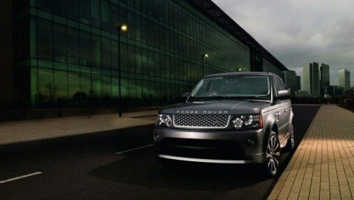 In Los Angeles have shown new Range Rover Sport
