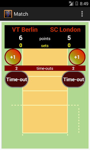Volleyball Score Counter