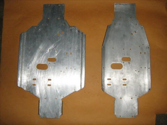 Comparison with Fabricated Chassis