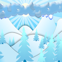 winter idyll icon