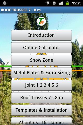 Roof Trusses 7 - 8 m DIY