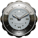 Dragon Clock Widget white icon