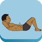 효과3배복근운동 다이어트 타이머 icon