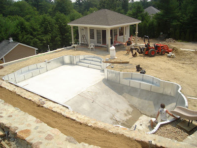 Vinyl Covered Steel Steps For In Ground Pools