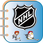 Ice Hockey(NHL) coloring book