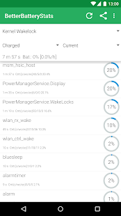 BetterBatteryStats- miniatura screenshot