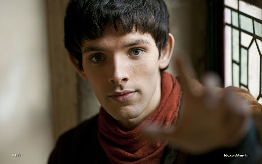 Colin Morgan plays Merlin