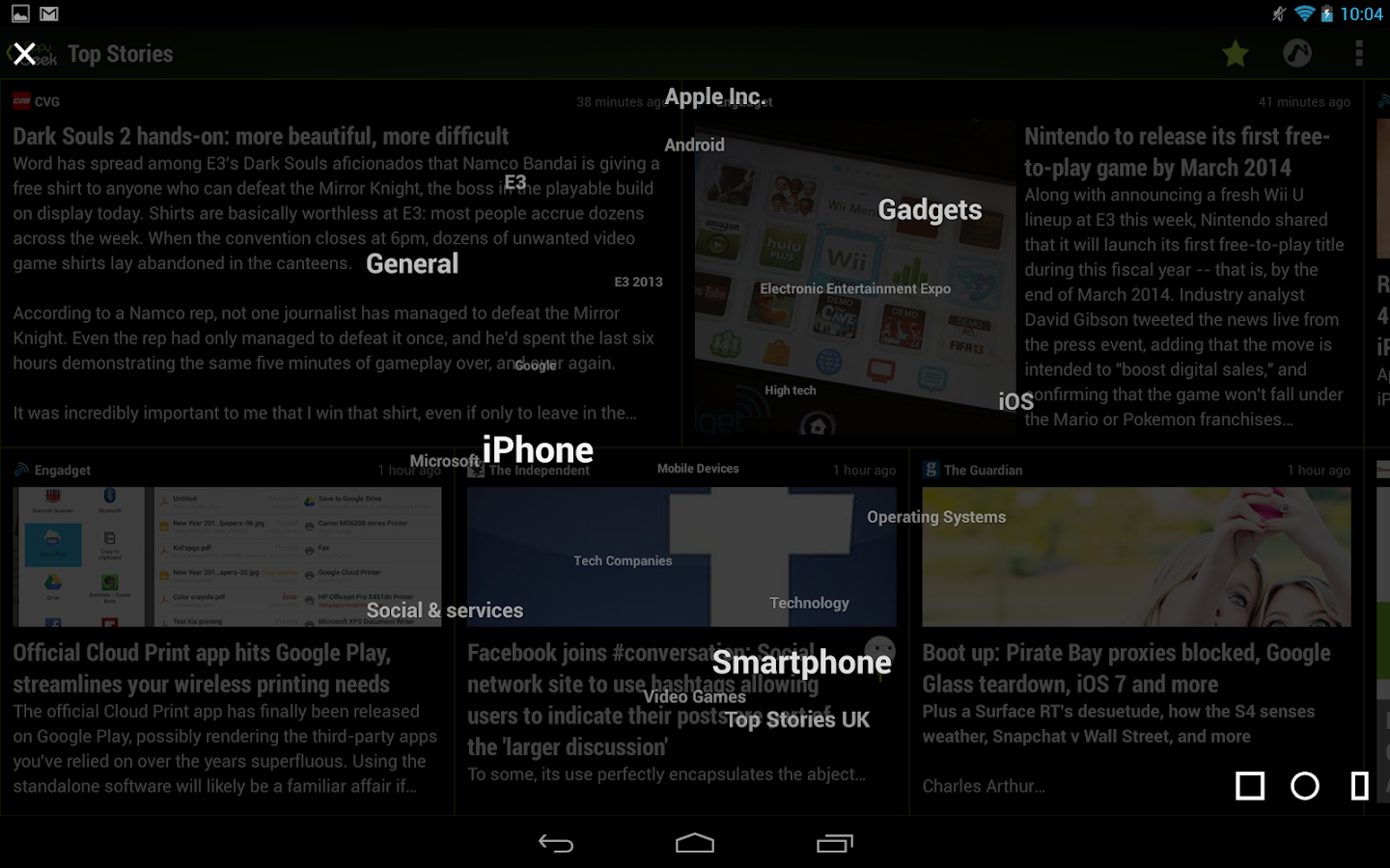 Appy Geek for Tablet - screenshot