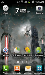 Invasion Live Wallpaper