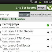 India City Bus routes